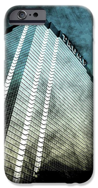 Office Buildings iPhone 6s Case - Surrounded By Darkness by Az Jackson
