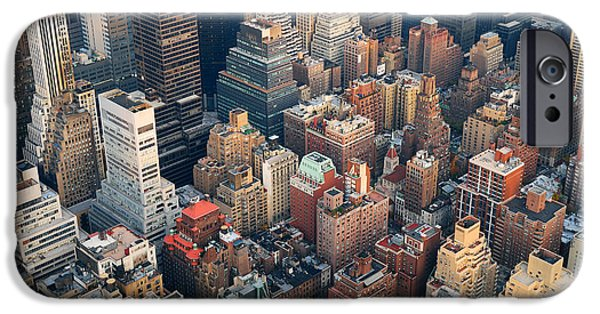 Office Buildings iPhone 6s Case - Urban City Architecture Background. New by Songquan Deng