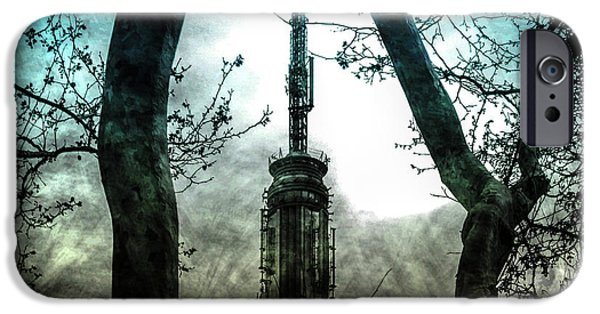 Contemporary iPhone 6s Case - Urban Grunge Collection Set - 04 by Az Jackson