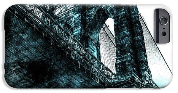 Digital Image iPhone 6s Case - Urban Grunge Collection Set - 08 by Az Jackson