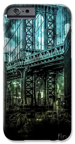 Digital Image iPhone 6s Case -  Urban Grunge Collection Set - 12 by Az Jackson