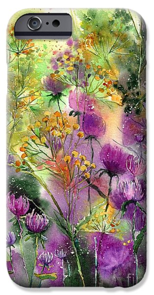 Perfume iPhone 6s Case - Wild Tansy by Suzann Sines