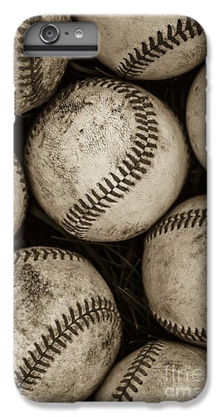 Baseball iPhone 6s Plus Case -  Baseballs by Diane Diederich