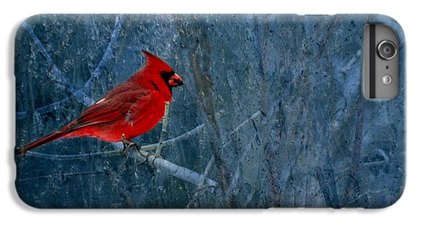 Northern Cardinal IPhone 6s Plus Case by Thomas Young