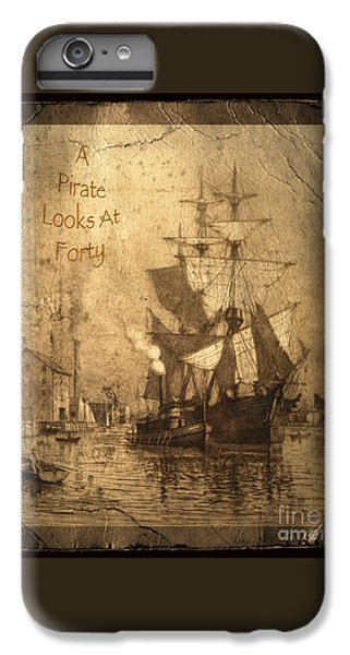 Parrot iPhone 6s Plus Case - A Pirate Looks At Forty by John Stephens