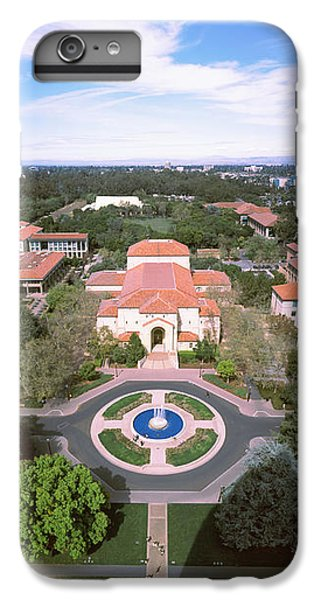 Stanford iPhone 6s Plus Case - Aerial View Of Stanford University by Panoramic Images