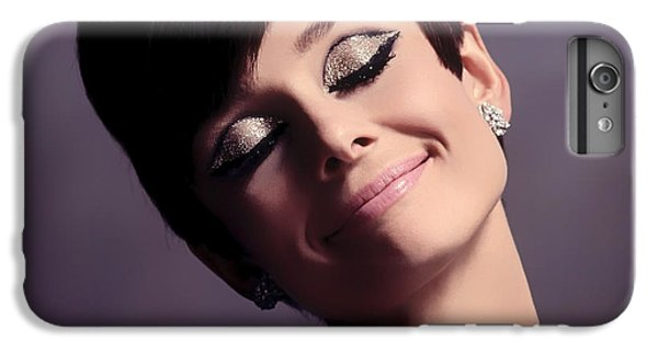 Audrey Hepburn iPhone 6s Plus Case - Audrey Hepburn by Mountain Dreams