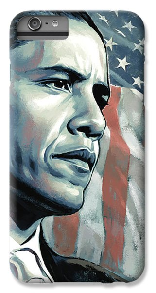 Barack Obama Artwork 2 IPhone 6s Plus Case