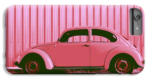 Hot iPhone 6s Plus Case - Beetle Pop Pink by Laura Fasulo