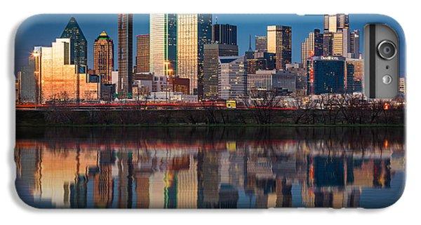 Dallas iPhone 6s Plus Case - Dallas Skyline by Mihai Andritoiu