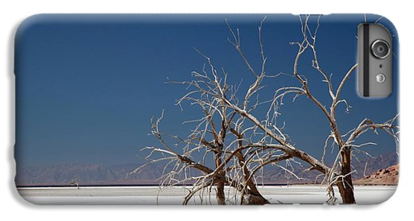 Dead Trees On Salt Flat IPhone 6s Plus Case by Jim West