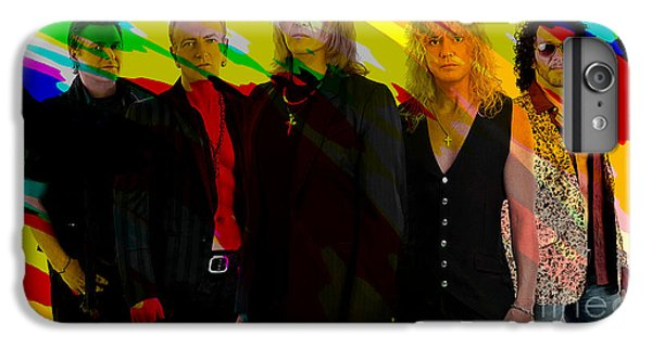 Def Leppard IPhone 6s Plus Case by Marvin Blaine