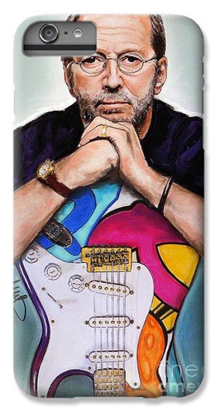 Eric Clapton iPhone 6s Plus Case - Eric Clapton by Melanie D