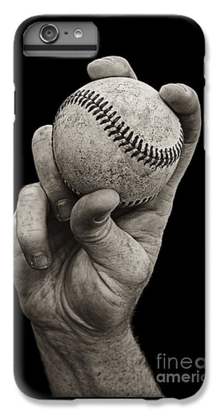 Baseball iPhone 6s Plus Case - Fastball by Diane Diederich