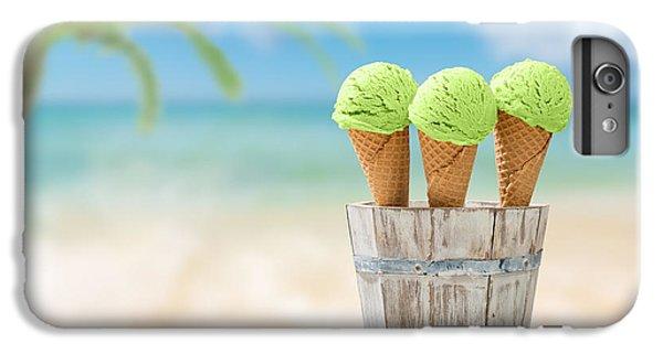 Kiwi iPhone 6s Plus Case - Ice Creams  by Amanda Elwell