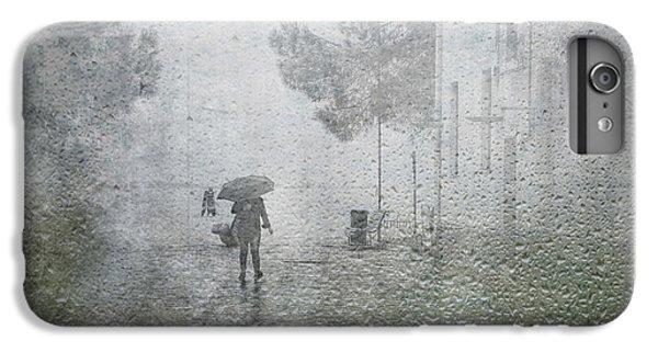 Umbrella iPhone 6s Plus Case - It's Raining by Anette Ohlendorf