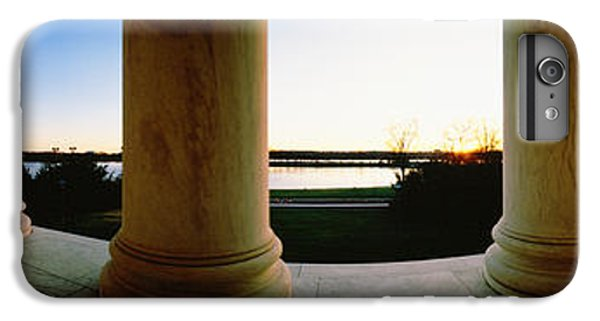 Jefferson Memorial iPhone 6s Plus Case - Jefferson Memorial Washington Dc Usa by Panoramic Images
