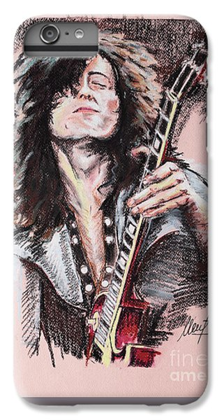 Jimmy Page IPhone 6s Plus Case by Melanie D