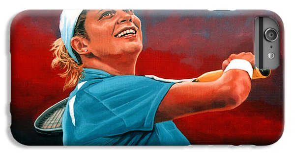 Kim Clijsters IPhone 6s Plus Case by Paul Meijering