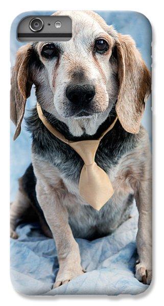Prairie Dog iPhone 6s Plus Case - Kippy Beagle Senior by Iris Richardson