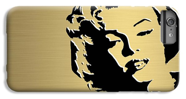 Marilyn Monroe Gold Series IPhone 6s Plus Case by Marvin Blaine