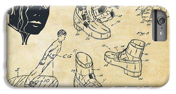Michael Jackson Anti-gravity Shoe Patent Artwork Vintage IPhone 6s Plus Case by Nikki Marie Smith
