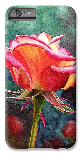 Rose iPhone 6s Plus Case - Morning Rose by Irina Sztukowski