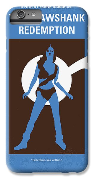 No246 My The Shawshank Redemption Minimal Movie Poster IPhone 6s Plus Case