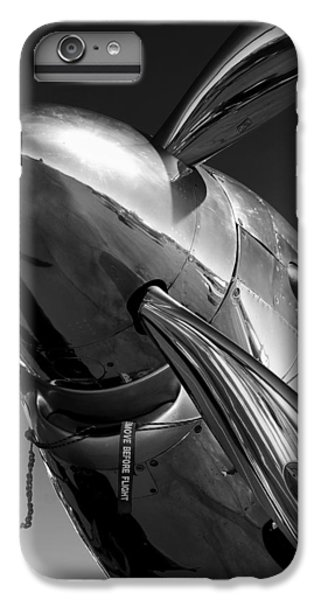Great White Shark iPhone 6s Plus Case - P-51 Mustang by John Hamlon