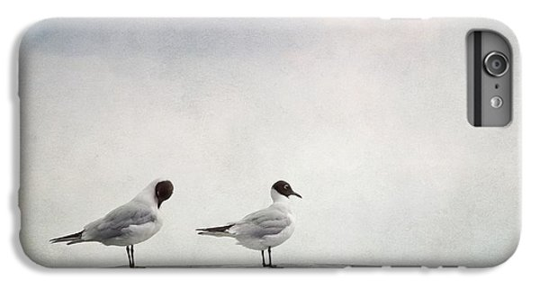 Seagulls IPhone 6s Plus Case by Priska Wettstein