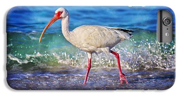 Ibis iPhone 6s Plus Case - Strolling by Betsy Knapp