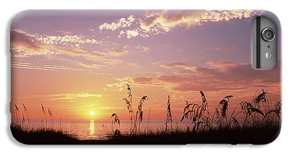 Venice Beach iPhone 6s Plus Case - Sunset Over The Sea, Venice Beach by Panoramic Images