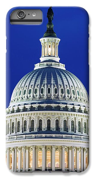 Capitol Building iPhone 6s Plus Case - Usa, Washington, D by Jaynes Gallery