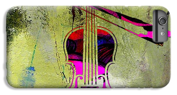 Violin And Bow IPhone 6s Plus Case by Marvin Blaine