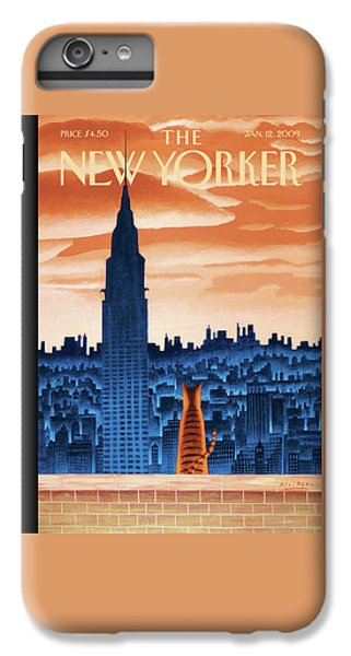 Times Square iPhone 6s Plus Case - New Yorker January 12th, 2009 by Mark Ulriksen