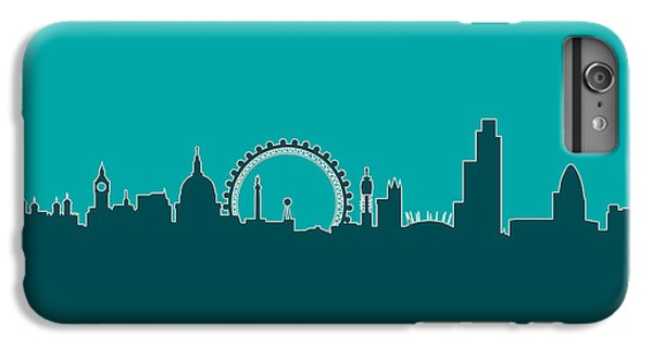 London England Skyline IPhone 6s Plus Case by Michael Tompsett