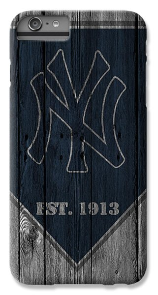 New York Yankees IPhone 6s Plus Case by Joe Hamilton