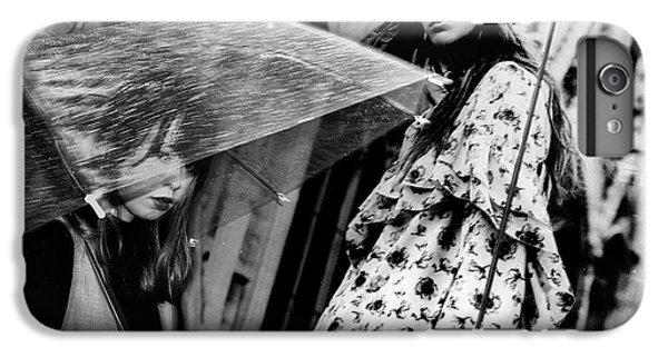 Umbrella iPhone 6s Plus Case - Untitled by Tatsuo Suzuki