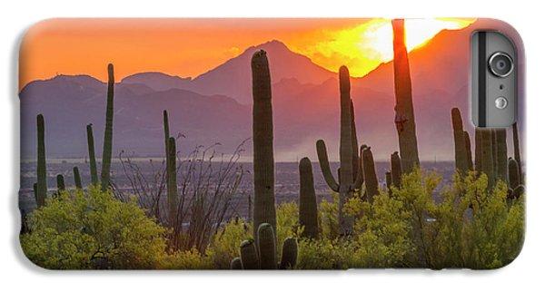 Usa, Arizona, Saguaro National Park IPhone 6s Plus Case