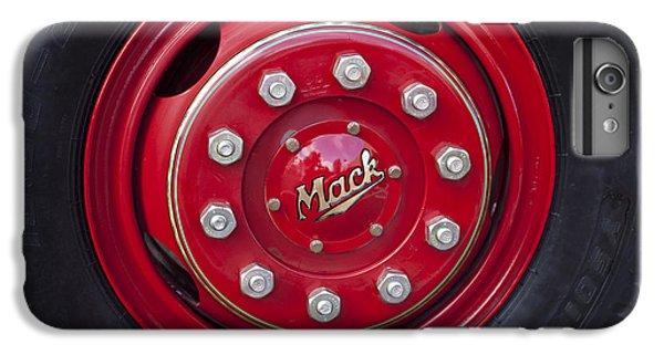 1952 L Model Mack Pumper Fire Truck Wheel IPhone 6s Plus Case by Jill Reger