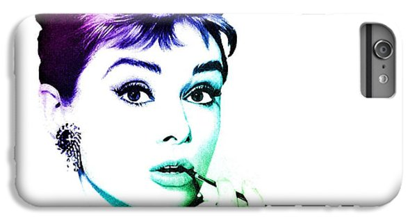 Audrey Hepburn iPhone 6s Plus Case - Audrey Hepburn by Marianna Mills