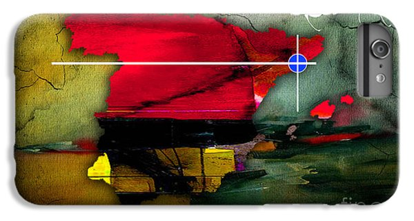 Barcelona Spain Map Watercolor IPhone 6s Plus Case