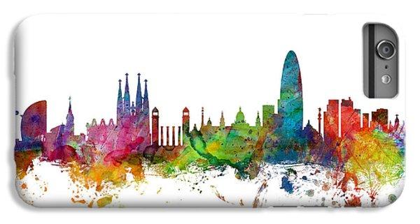 Barcelona Spain Skyline IPhone 6s Plus Case
