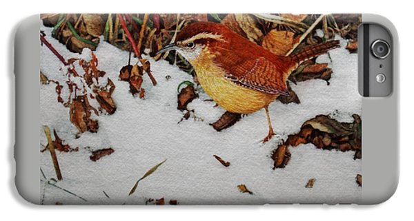 Wren iPhone 6s Plus Case - Carolina Wren by Ken Everett