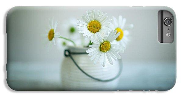 Daisy iPhone 6s Plus Case - Daisy Flowers by Nailia Schwarz