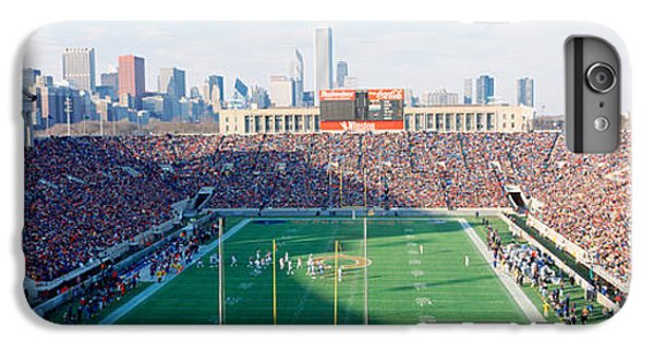 Soldier Field iPhone 6s Plus Case - High Angle View Of Spectators by Panoramic Images