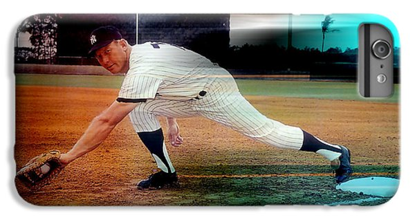 Mickey Mantle IPhone 6s Plus Case by Marvin Blaine