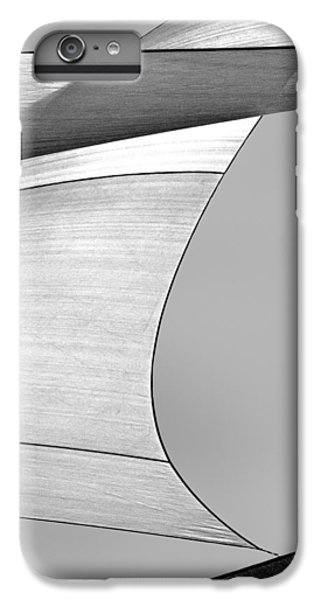 Abstract iPhone 6s Plus Case - Sailcloth Abstract Number 4 by Bob Orsillo