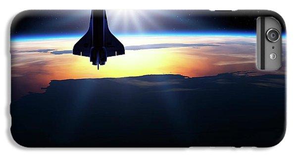 Space Shuttle In Orbit IPhone 6s Plus Case by Detlev Van Ravenswaay