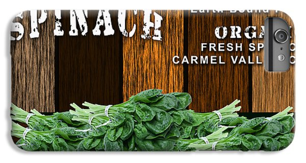 Spinach Patch IPhone 6s Plus Case